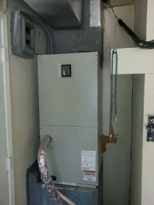 Completed AC repair