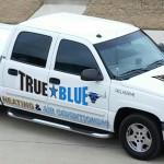 HVAC service truck TB
