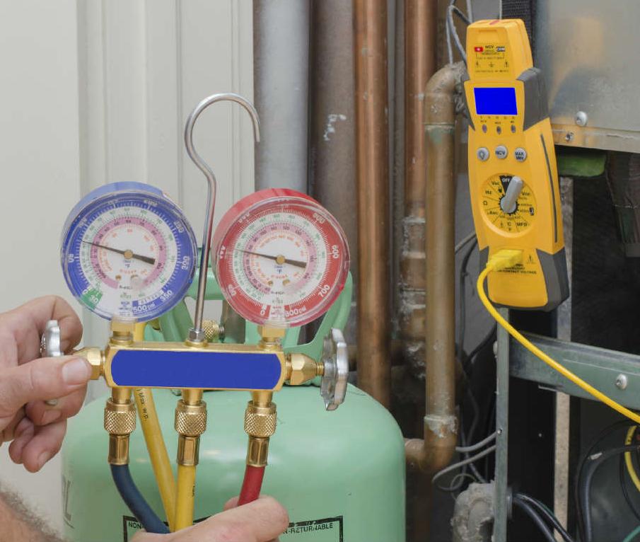 freon leak repair refill