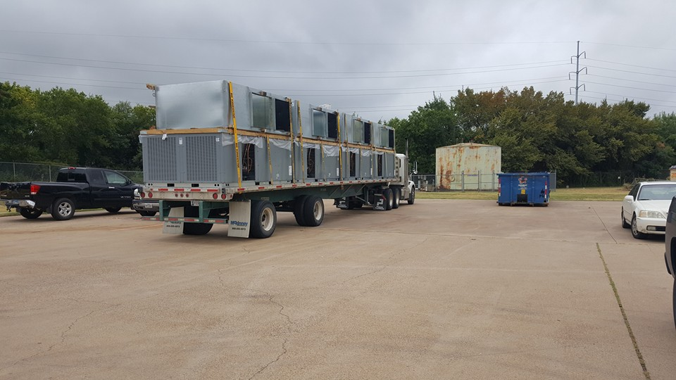 25 ton comercial ac unit